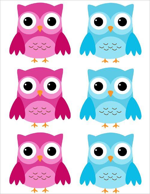 500x647 Barn Owl Clipart Blue Owl
