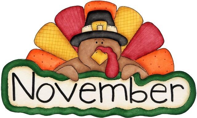 640x382 Creative Idea November Clipart Images Free Download Printable