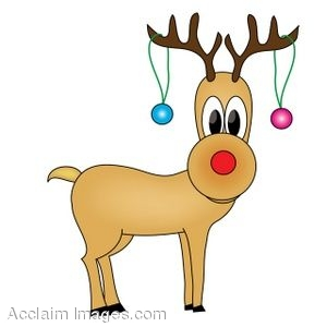 image regarding Words to Rudolph the Red Nosed Reindeer Printable referred to as Cost-free Printable Reindeer Clipart at  Absolutely free