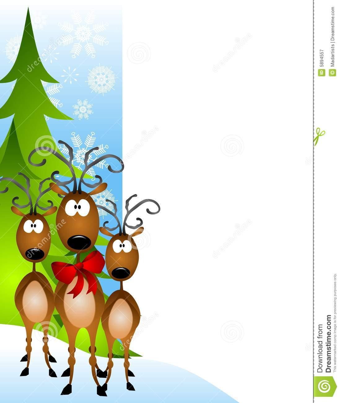 1101x1300 Free Reindeer Clipart Borders