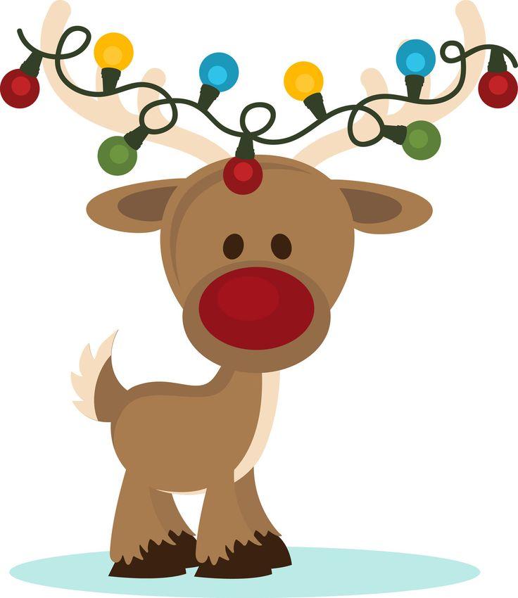 736x850 Free Christmas Reindeer Clipart