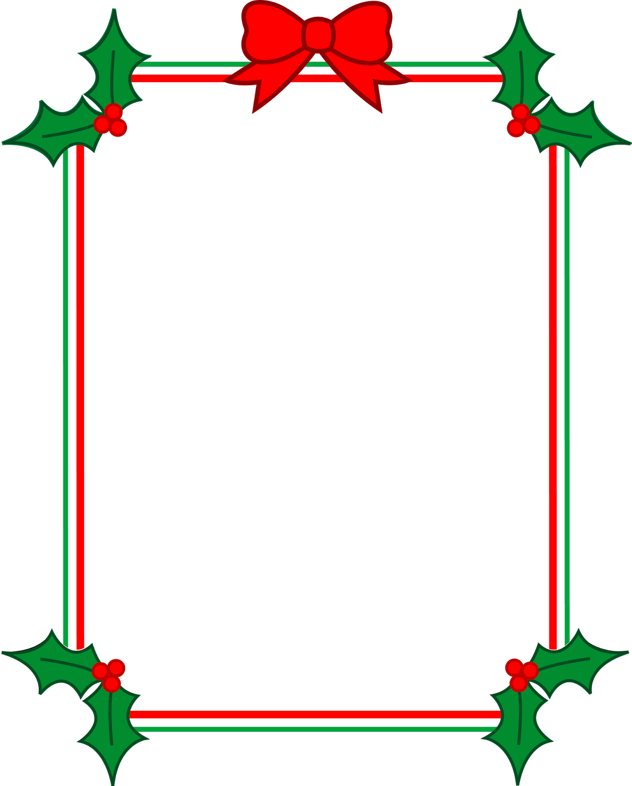 1286x1600 Printable Religious Christmas Frame