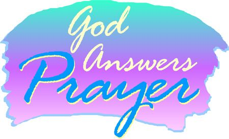 450x273 Printable Religious Clip Art God Answers Prayer