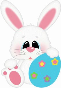 211x300 466 Best Easter Clip Art Images On Rabbits, Bunnies