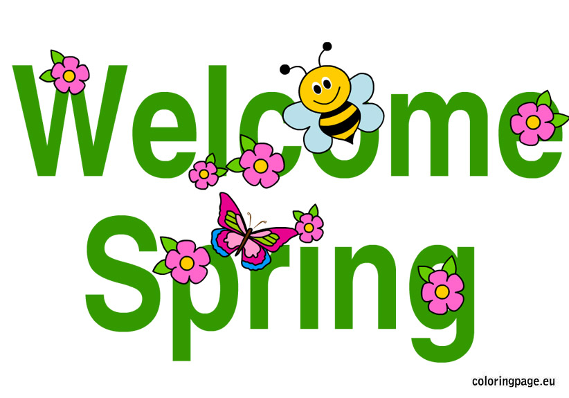 Free Printable Spring Clipart at GetDrawings | Free download