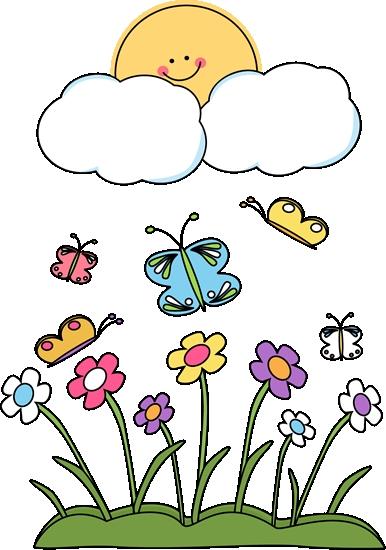 386x550 Springtime Clipart Images