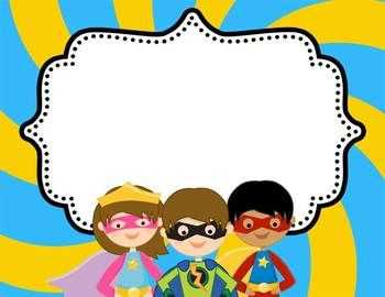 350x270 Collection Of Superhero Clipart Border High Quality Free