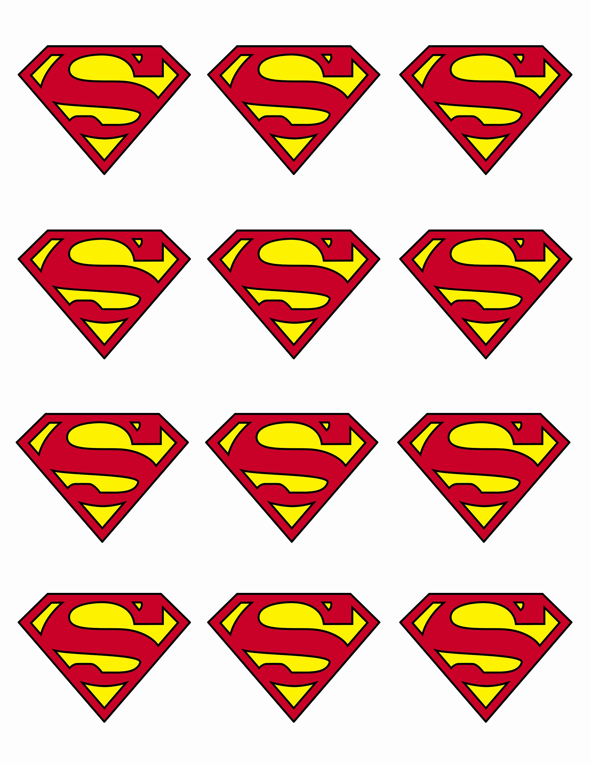 2040x2640 Superheroes Logos Printable Awesome Clip Art Superhero Logos