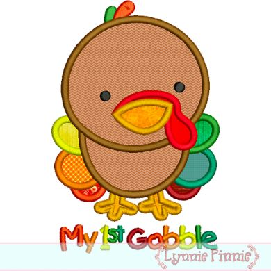 390x390 Baby Clipart First Thanksgiving