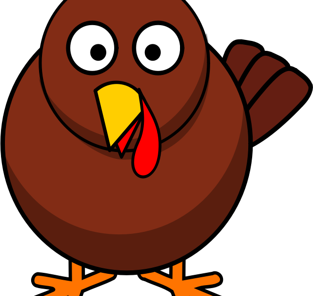 633x600 Turkey Clip Art Free Cooked Turkey Clipart Thanksgiving Clipart