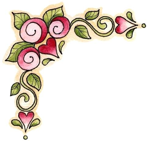 photo relating to Valentine Borders Free Printable identify Totally free Printable Valentine Clipart at  Cost-free