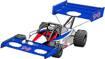 400x227 Animated Race Car Free Download Clip Art