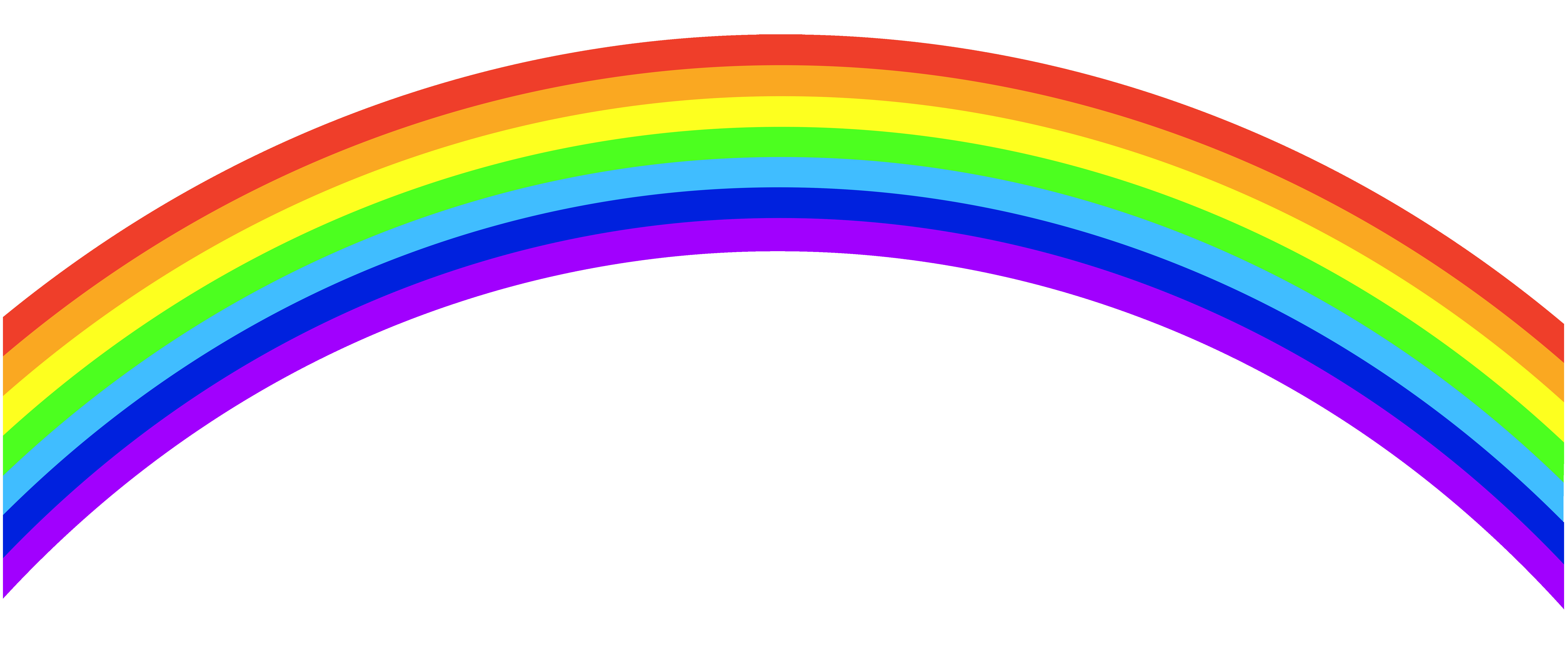 rainbow clipart clip vector royalty banner getdrawings cliparts
