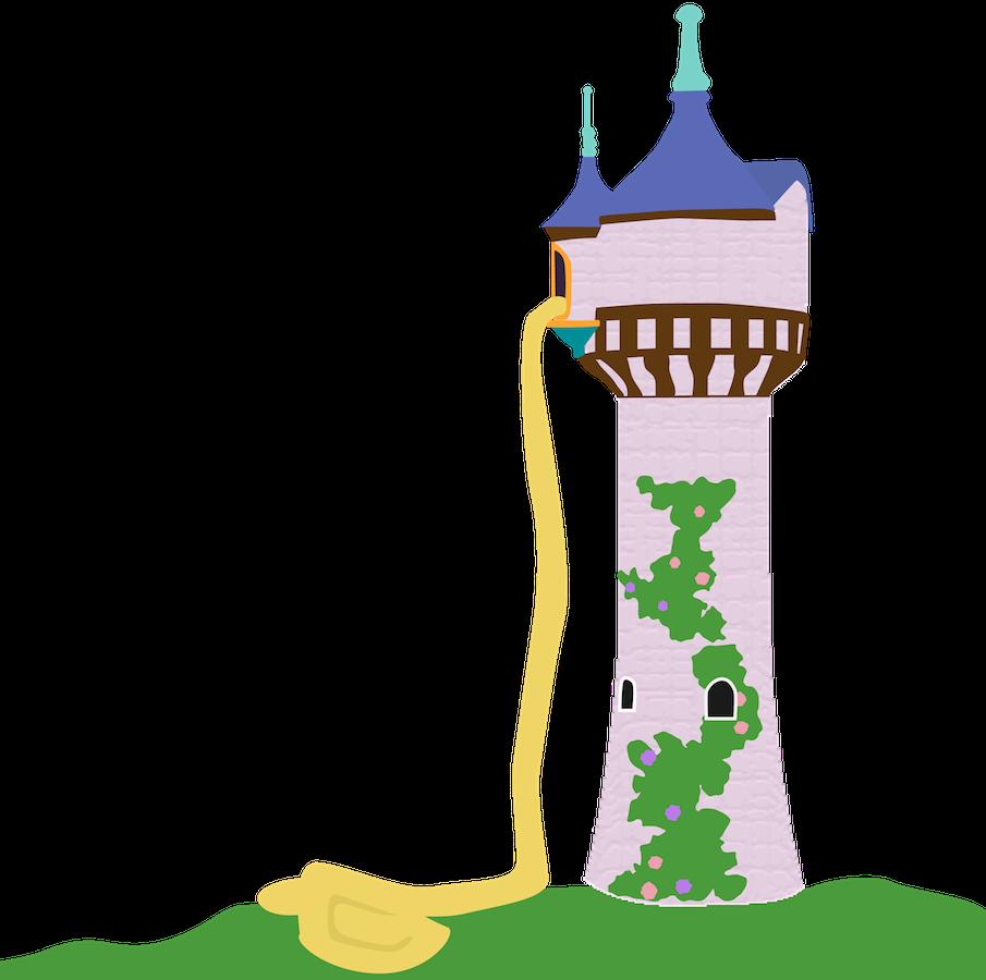 905x900 Rapunzel Tower Disney Princess Tangled Clip Art