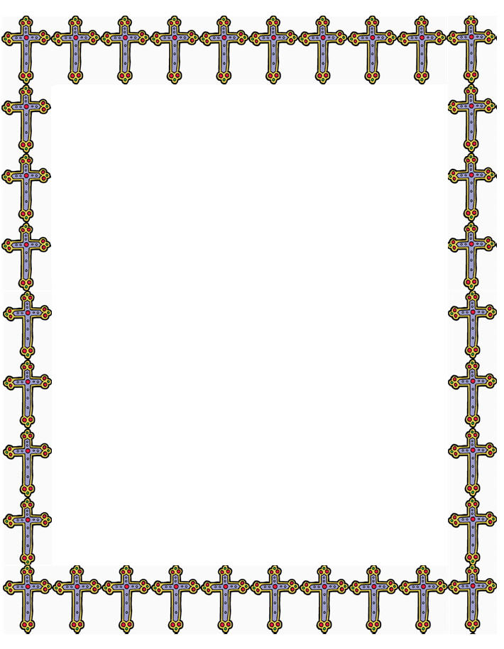 710x915 Free Christian Borders And Clipart
