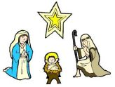 164x124 New Free Religious Christmas Clipart People Singing Christmas