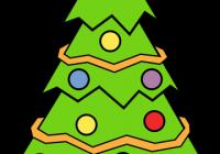 200x140 Christmas Tree Clipart Simple Artistic Christmas Tree Clipart