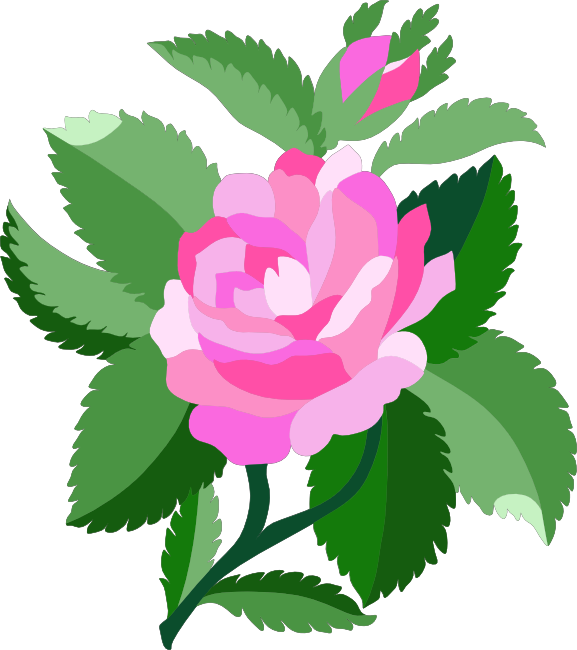 577x650 Free Rose Clipart, Animations And Vectors