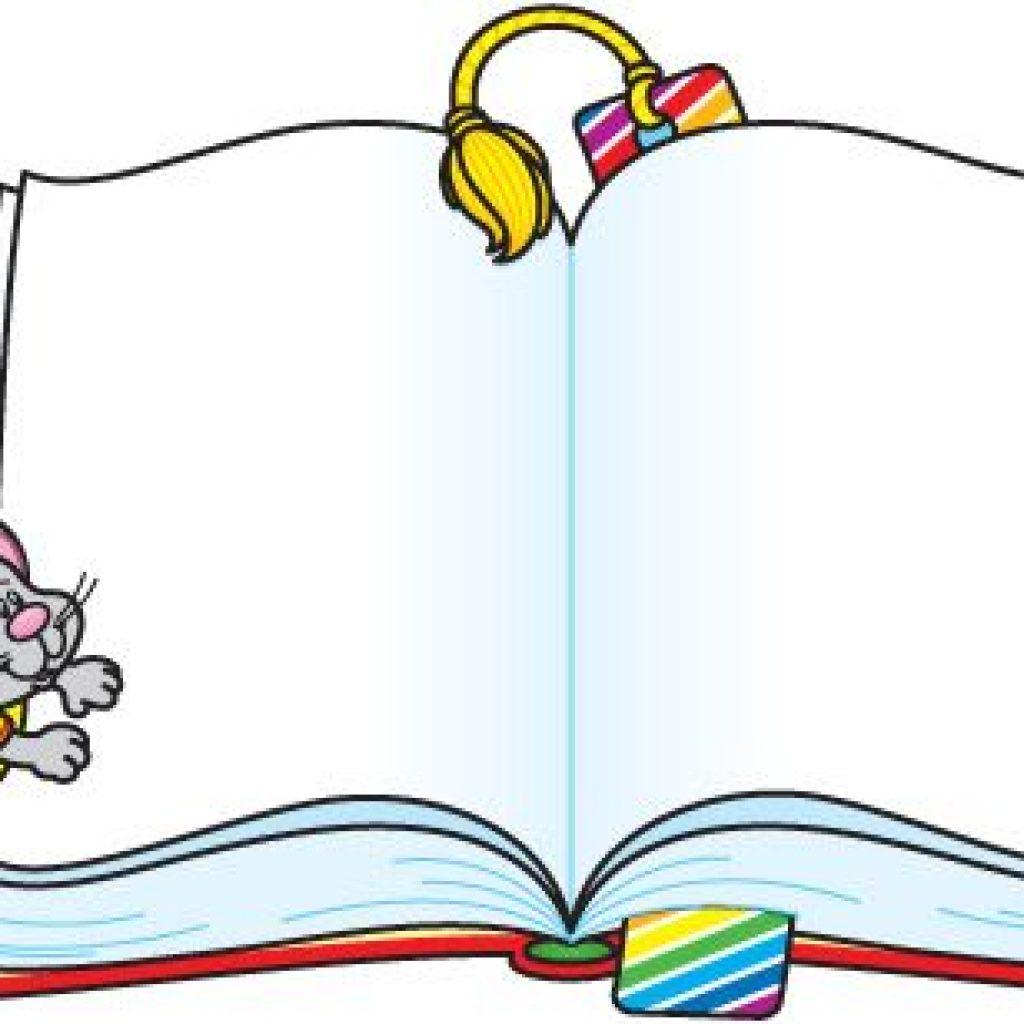 1024x1024 Open Book Clip Art Rose Clipart