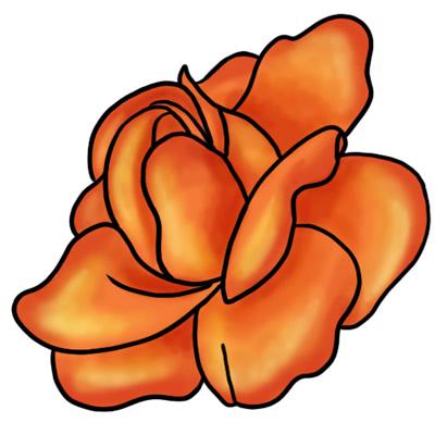 400x400 Top 76 Roses Clip Art
