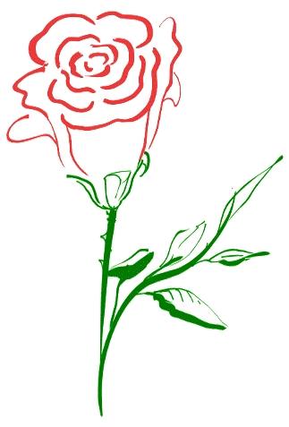 323x477 Flower Clipart Rose Free Rose Clipart Public Domain Flower Clip