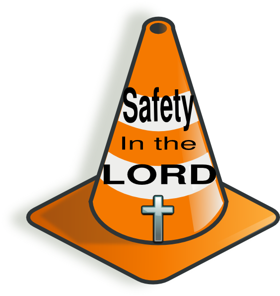 564x596 Cross Safety Clip Art