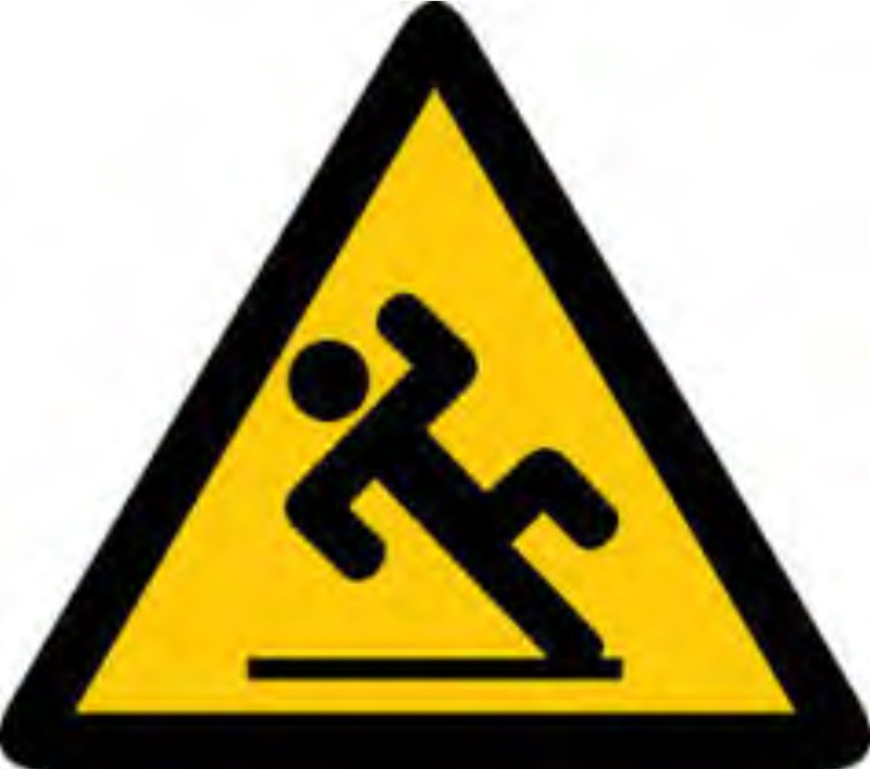 800x707 Fall Safety Clipart