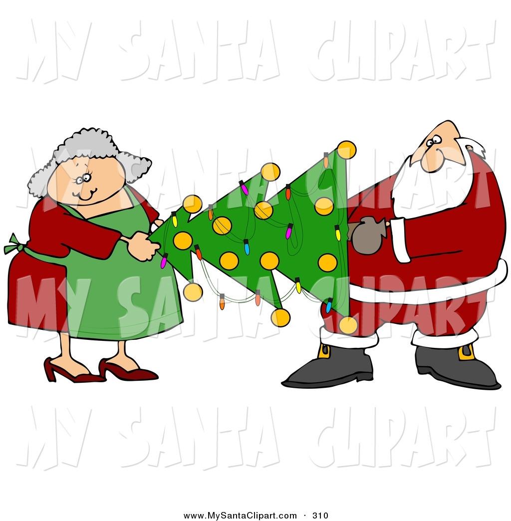 Free Santa Clipart at GetDrawings