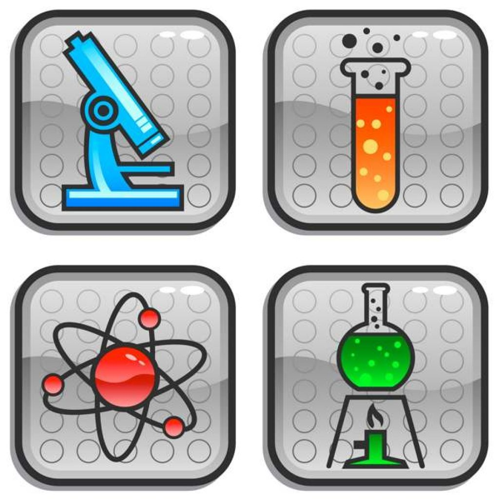 1024x1024 Science Clip Art Free New Year Clipart