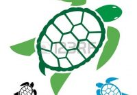 200x140 Sea Turtle Clipart Black And White Turtle Clipart Royalty Free