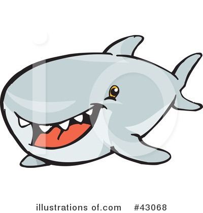 400x420 Shark Clipart