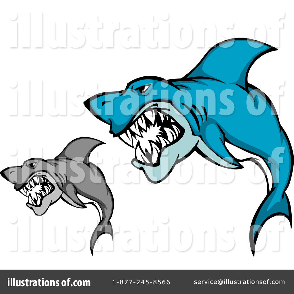 1024x1024 Sharks Clipart