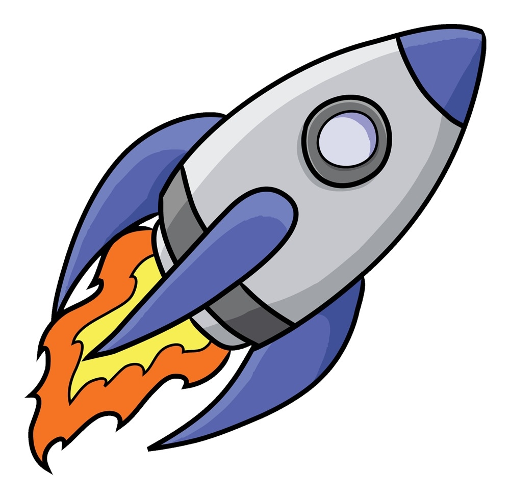 1000x979 Rocket Ship Clip Art