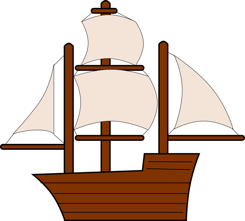 796x720 Sailing Ship Clipart Cloud
