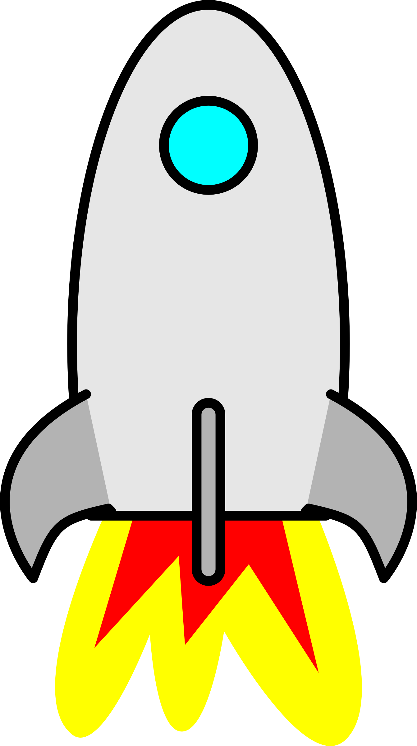 1342x2400 Awesome Rocket Ship Clipart Clip Art Free Image Of A Taking Off