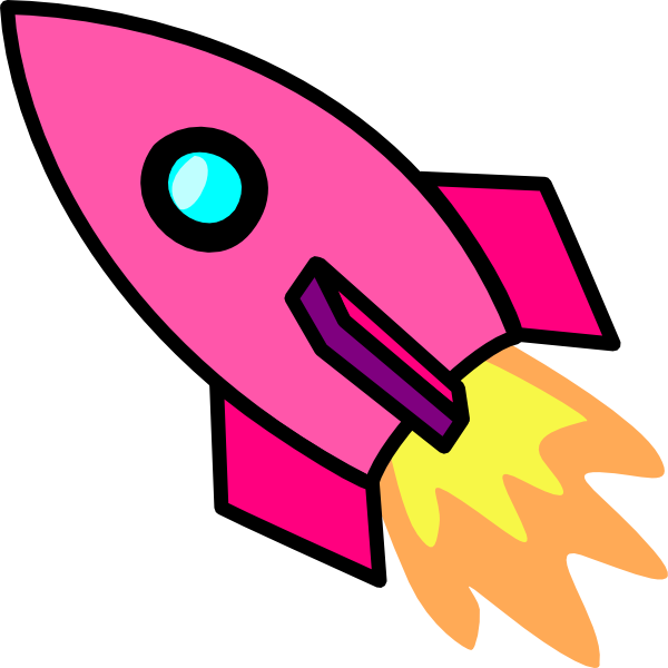 600x600 Rocketship Clipart Cartoon Rocket Ship Clipart Clip Art Bay