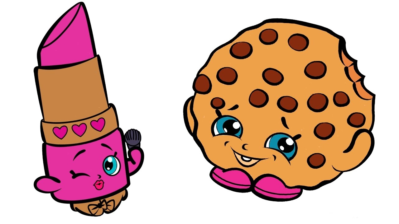 1280x720 Lippy Lips Shopkins Coloring Pages Free 8