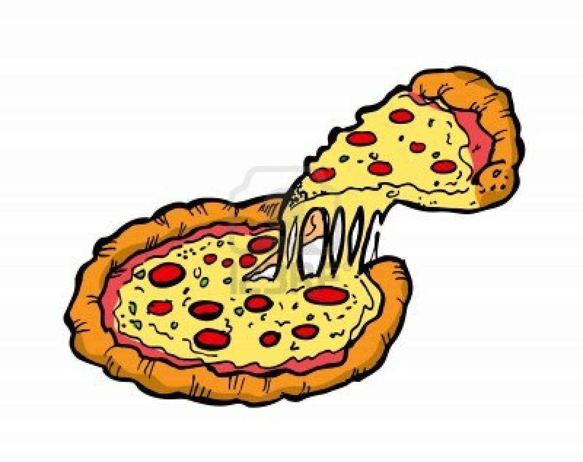 1200x951 Trendy Pizza Clipart Free 5 11674563 Vector Illustration