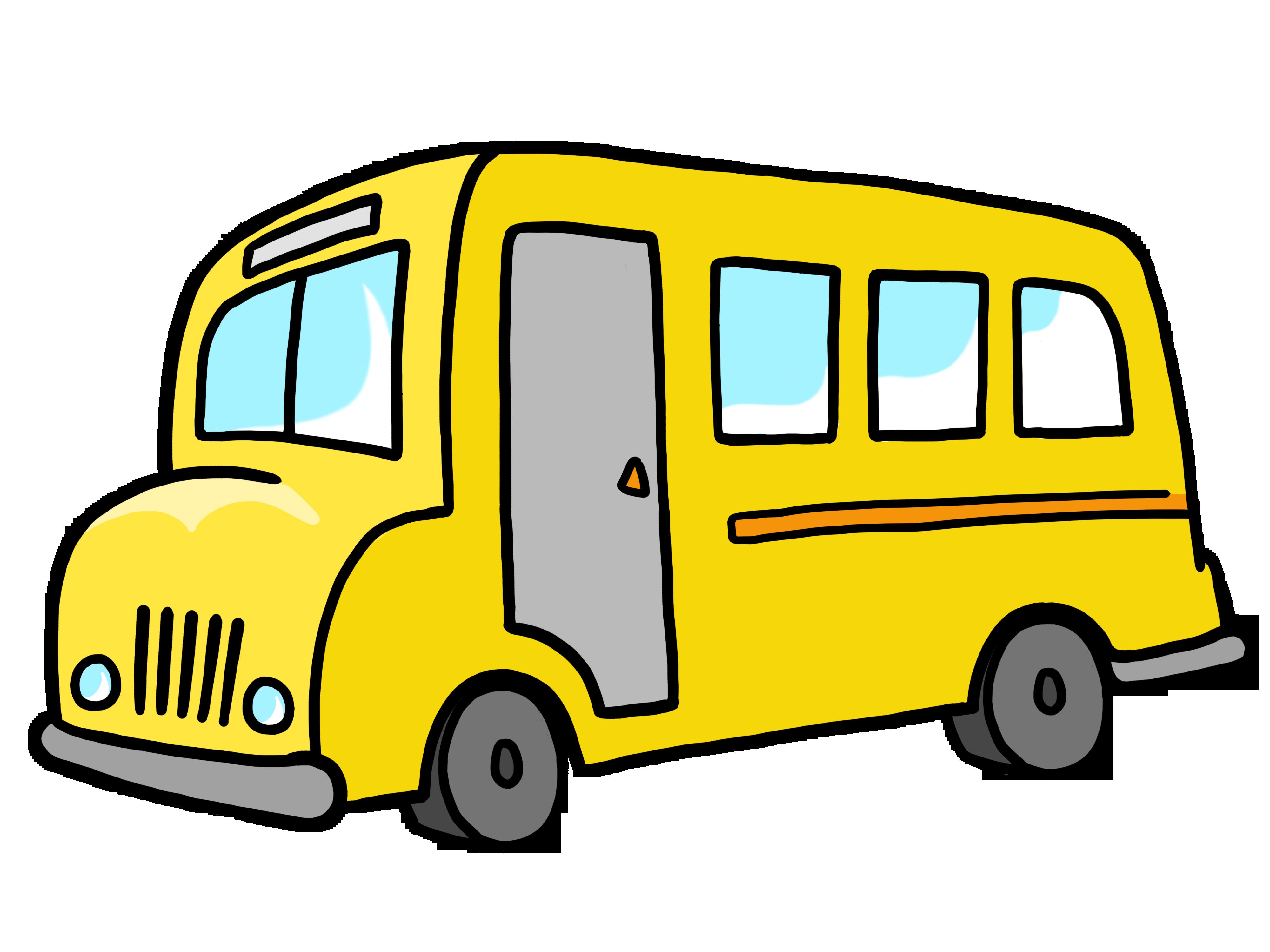 4000x3000 School Bus Simple Bus Clip Art Free Clipart Images Clipartix