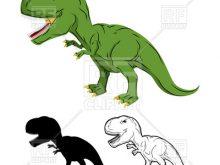 220x165 Clip Art T Rex Green Dinosaur Skeleton Of Tyrannosaurus Rex