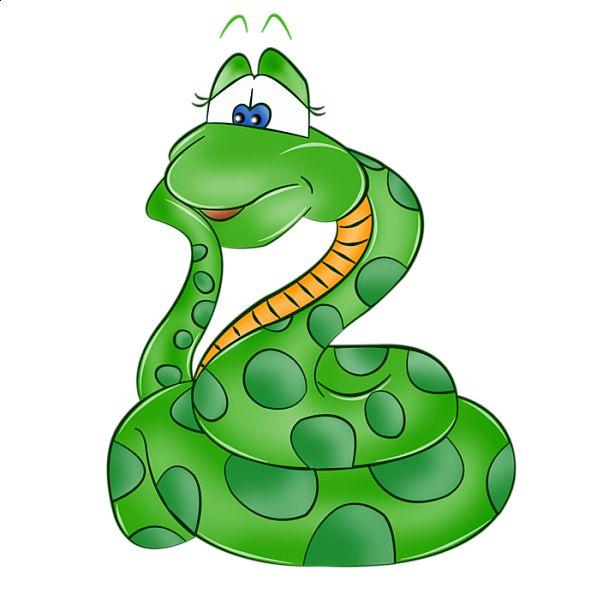 591x600 Funny Cartoon Snake Clipart Snake Animals Clip Art