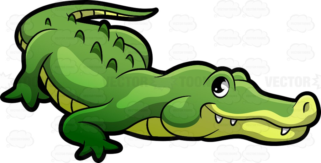 1024x519 Smooth Green Snake Clipart Alligator