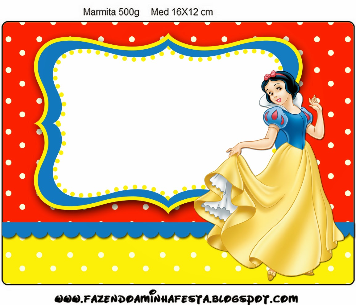 1154x990 Snow White Free Printable Candy Bar Labels. Oh My Fiesta!