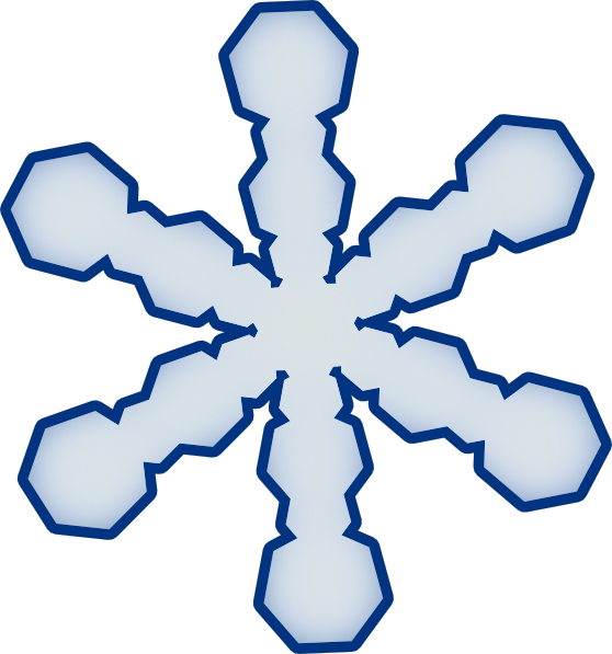 558x597 Snowflake Clipart Simple Snowflake Clip Art