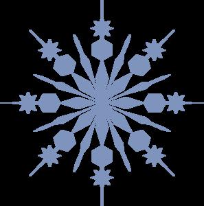 297x300 Vibrant Inspiration Snowflake Clipart Snowflakes Black And White