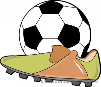 400x346 Soccer Clipart Clipartaz Free Clipart Collection