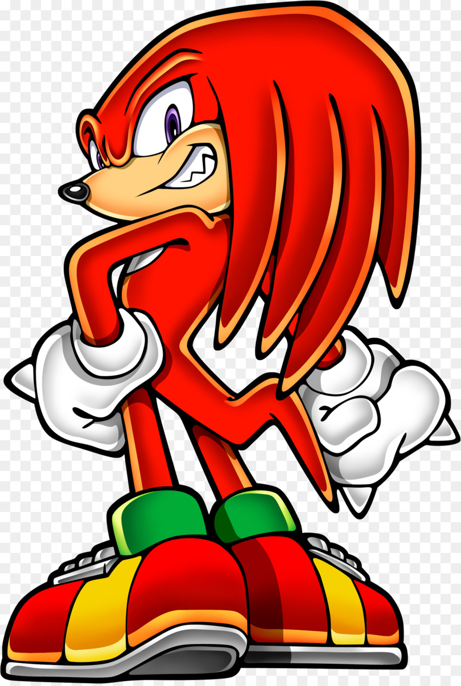 900x1340 Knuckles Echidna Sonic Amp Knuckles Sonic Advance 2 Sonic