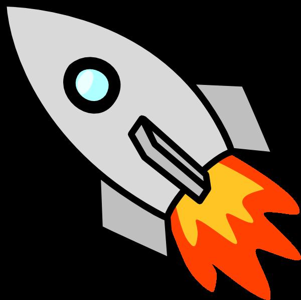 600x597 Rocketship clipart Piggybank Clip Art
