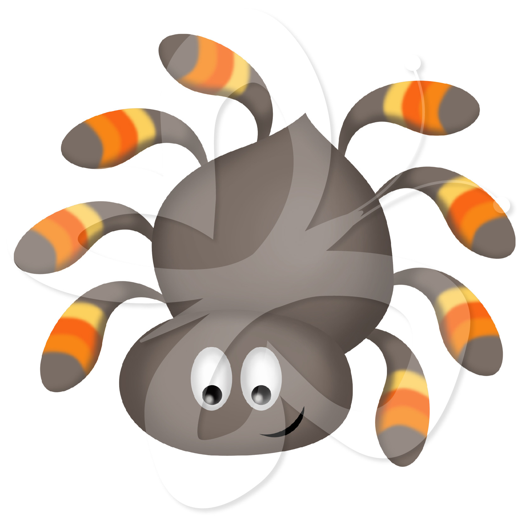 1667x1667 New Of Clip Art Spider Clipart Black And White Free Images Showy