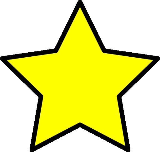 512x488 Star Clip Art Outline Clipart Panda